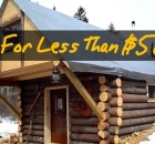 Log Cabin Built For Under $500
