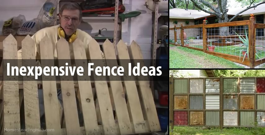 Clever Amp Inexpensive Fence Ideas The Homesteading Hub