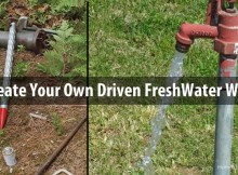 Create Your Own Driven FreshWater Well