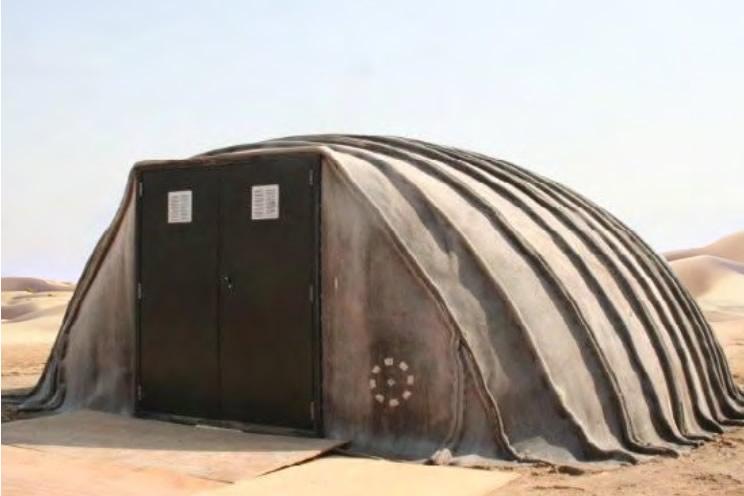 Concrete Canvas Shelters