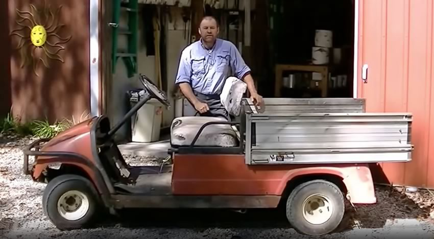 Golf Cart To Saw Mill