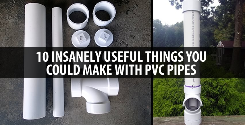 10 insanely useful things you could make with pvc pipes