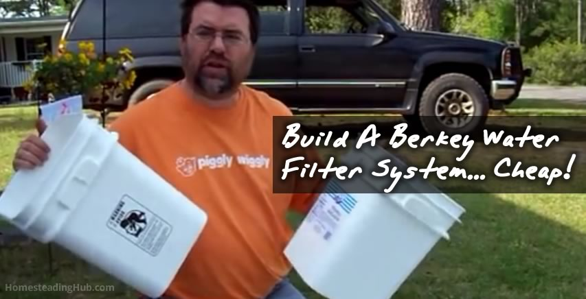 DIY Berkey Water Purifier
