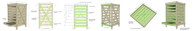Food Storage Rack Instructions