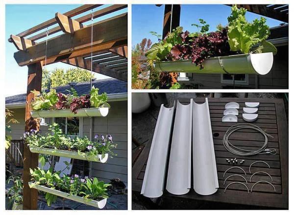 PVC Hanging Garden